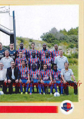 2014-15 - Panini Ligue 1 Stickers - N° 051 - Équipe SM Caen