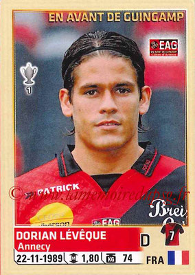 2014-15 - Panini Ligue 1 Stickers - N° 106 - Dorian LEVEQUE (EA Guingamp)