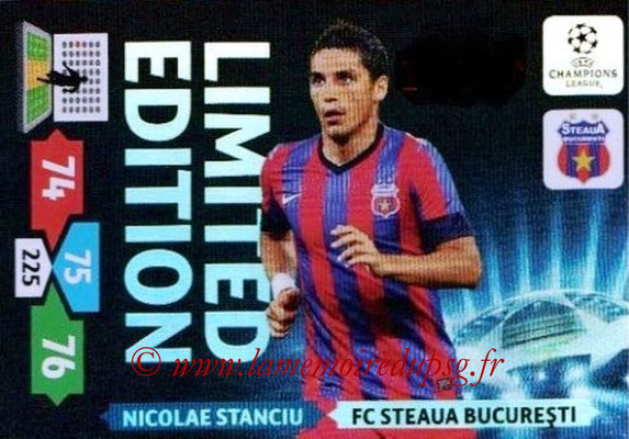 2013-14 - Adrenalyn XL champions League N° LE57 - Nicolae STANCIU (FC Steaua Bucarest) (Limited Edition)