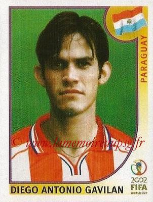 2002 - Panini FIFA World Cup Stickers - N° 141 - Diego Antonio GAVILAN (Paraguay)