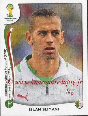 2014 - Panini FIFA World Cup Brazil Stickers - N° 601 - Islam SLIMANI (Algérie)