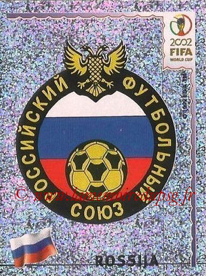 2002 - Panini FIFA World Cup Stickers - N° 521 - Logo Russie
