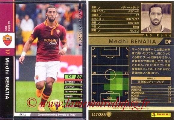 2013-14 - WCCF - N° 147 - Medhi BENATIA (AS Roma)