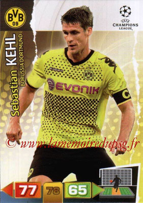 2011-12 - Panini Champions League Cards - N° 072 - Sebastian KEHL (Borussia Dortmund)