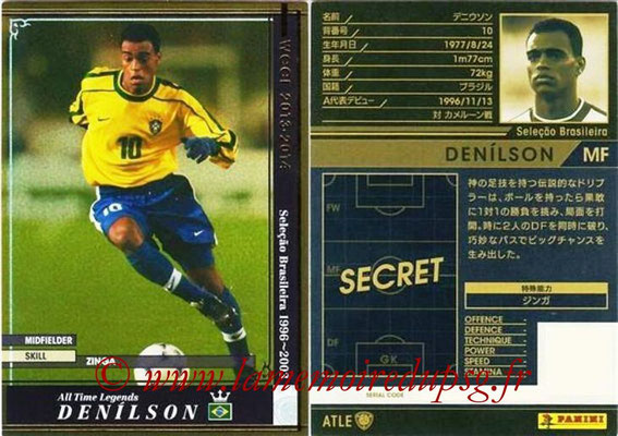 2013-14 - WCCF - N° ATLE05 - DENILSON (Brésil) (All Time Legend)