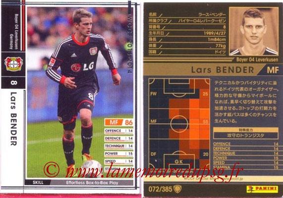 2013-14 - WCCF - N° 072 - Lars BENDER (Bayer 04 Leverkusen)