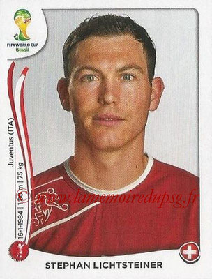 2014 - Panini FIFA World Cup Brazil Stickers - N° 339 - Stephan LICHTSTEINER (Suisse)