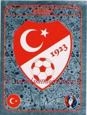 Panini Euro 2016 Stickers - N° 350 - Logo Turquie