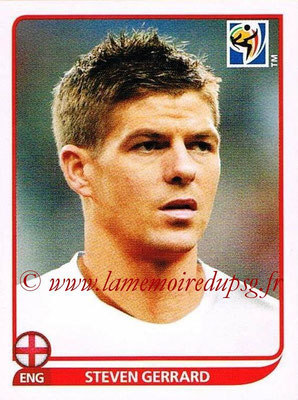 2010 - Panini FIFA World Cup South Africa Stickers - N° 192 - Steven GERRARD (Angleterre)