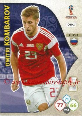 2018 - Panini FIFA World Cup Russia Adrenalyn XL - N° 284 - Dmitri KOMBAROV (Russie)