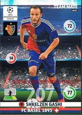 2014-15 - Adrenalyn XL champions League Update edition N° UE032 - Shkelzen GASHI (FC Bâle)
