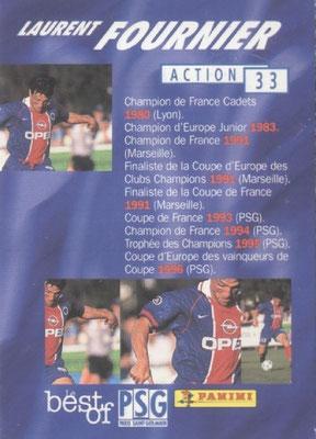 N° 033 - Laurent FOURNIER (Verso)