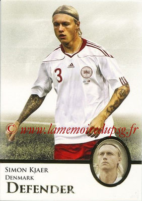 2013 - Futera World Football Unique - N° 019 - Simon KJAER (Danemark) (Defender)