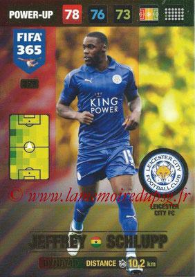 2016-17 - Panini Adrenalyn XL FIFA 365 - N° 379 - Jeffrey SCHLUPP (Leicester City FC) (Dynamo)