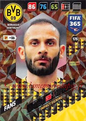 2017-18 - Panini FIFA 365 Cards - N° 175 - Ömer TOPRAK (Borussia Dortmund) (Impact Signing)
