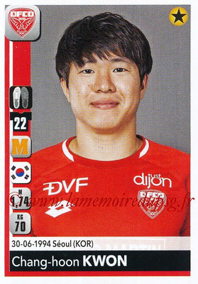 2018-19 - Panini Ligue 1 Stickers - N° 113 - Chang-Hoon KWON (Dijon)