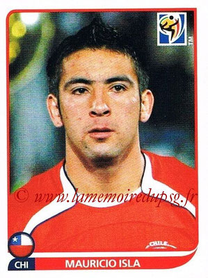 2010 - Panini FIFA World Cup South Africa Stickers - N° 627 - Mauricio ISLA (Chili)