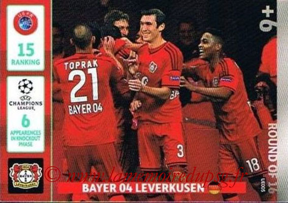2014-15 - Adrenalyn XL champions League Update edition N° UE005 - Bayer Leverkusen (Round of 16)