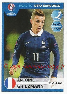 Panini Road to Euro 2016 Stickers - N° 108 - Antoine GRIEZMANN (France)