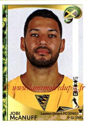 Panini Copa America Centenario USA 2016 Stickers - N° 271 - Jobi McANUFF (Jamaïque)