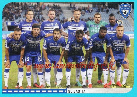 2016-17 - Panini Ligue 1 Stickers - N° 046 - Equipe Bastia