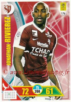 2017-18 - Panini Adrenalyn XL Ligue 1 - N° 176 - Jonathan RIVIERE (Metz)