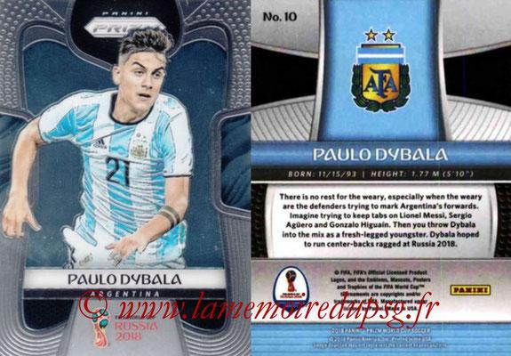 2018 - Panini Prizm FIFA World Cup Russia - N° 010 - Paulo DYBALA (Argentine)