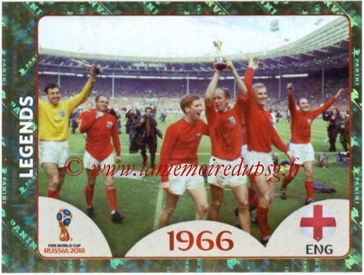2018 - Panini FIFA World Cup Russia Stickers - N° 677 - Angleterre 1966 (FIFA World Cup Legends)