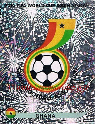 2010 - Panini FIFA World Cup South Africa Stickers - N° 316 - Logo Ghana