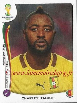 2014 - Panini FIFA World Cup Brazil Stickers - N° 091 - Charles ITANDJE (Cameroun)