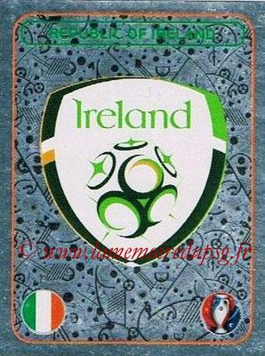 Panini Euro 2016 Stickers - N° 462 - Logo République d'Irlande