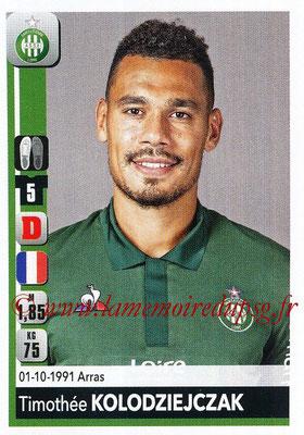 2018-19 - Panini Ligue 1 Stickers - N° 429 - Timothée KOLODZIEJCZAK (Saint-Etienne)