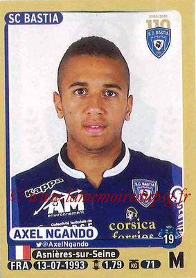 2015-16 - Panini Ligue 1 Stickers - N° 068 - Axel NGANDO (SC Bastia)