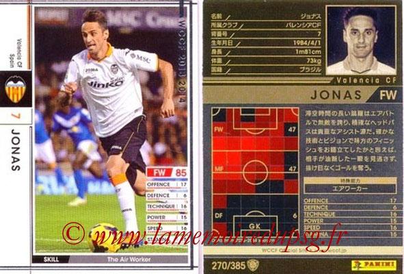 2013-14 - WCCF - N° 270 - JONAS (FC Valence)