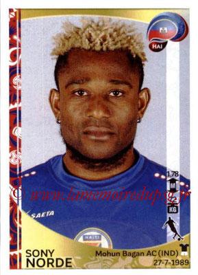 Panini Copa America Centenario USA 2016 Stickers - N° 175 - Sony NORDE (Haiti)
