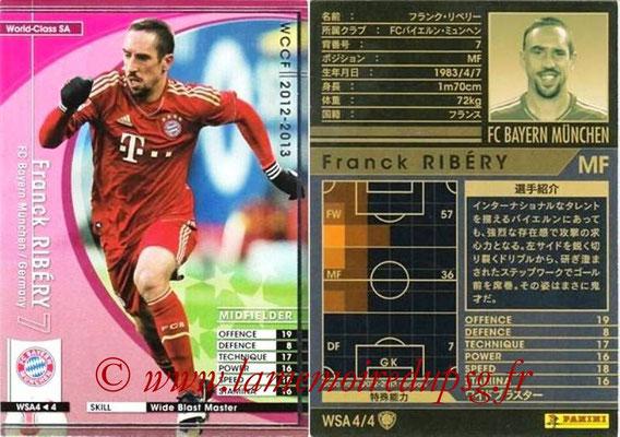 2012-13 - WCCF - N° WSA4 - Franck RIBERY (FC Bayern Munich) (World Class SA)