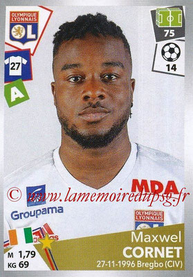 2017-18 - Panini Ligue 1 Stickers - N° 197 - Maxwel CORNET (Lyon)