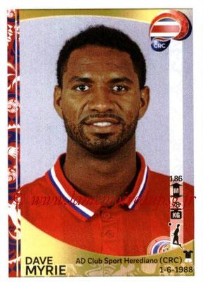 Panini Copa America Centenario USA 2016 Stickers - N° 070 - Dave MYRIE (Costa Rica)