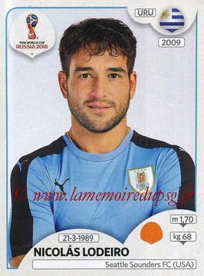 2018 - Panini FIFA World Cup Russia Stickers - N° 104 - Nicolas LODEIRO (Uruguay)