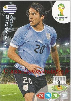 2014 - Panini FIFA World Cup Brazil Adrenalyn XL - N° 312 - Alvaro GONZALEZ (Uruguay)