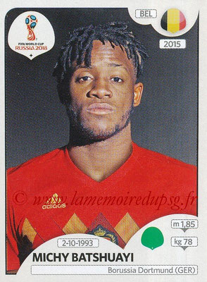 2018 - Panini FIFA World Cup Russia Stickers - N° 530 - Michy BATSHUAYI (Belgique)