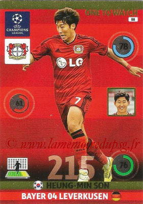 2014-15 - Adrenalyn XL champions League N° 088 - Heung-Min SON (Bayer Leverkusen) (One to watch)