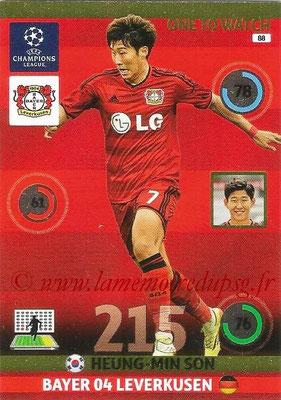 2014-15 - Adrenalyn XL champions League N° 088 - Heung-Min SON (Bayer Leverkusen) (One to watch)