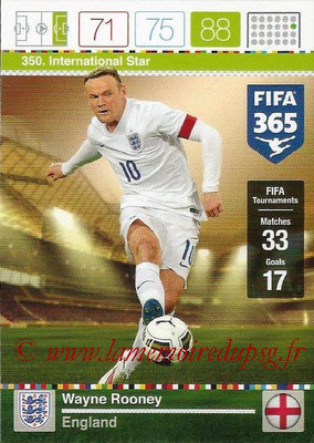 2015-16 - Panini Adrenalyn XL FIFA 365 - N° 350 - Wayne ROONEY (Angleterre) (International Star)
