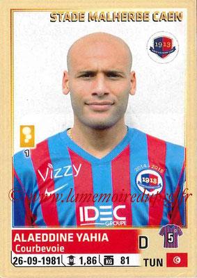 2014-15 - Panini Ligue 1 Stickers - N° 060 - Alaeddine YAHIA (SM Caen)