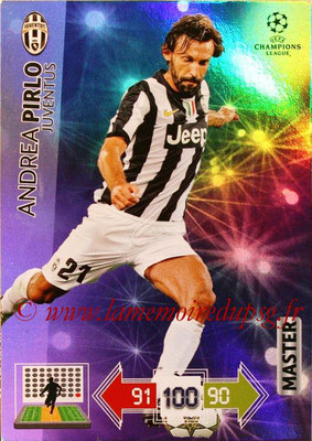 2012-13 - Adrenalyn XL champions League N° 334 - Andrea PIRLO (Juventus FC) (Master)