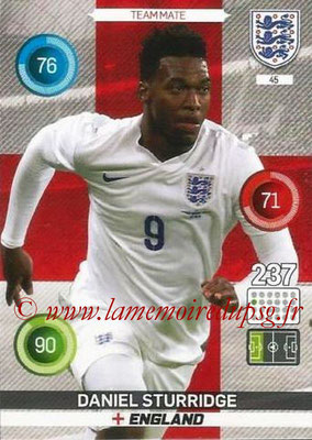 Panini England 2016 Adrenalyn XL - N° 045