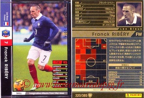 2013-14 - WCCF - N° 320 - Franck RIBERY (France)