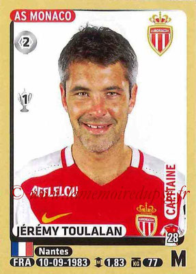 2015-16 - Panini Ligue 1 Stickers - N° 260 - Jérémy TOULALAN (AS Monaco)