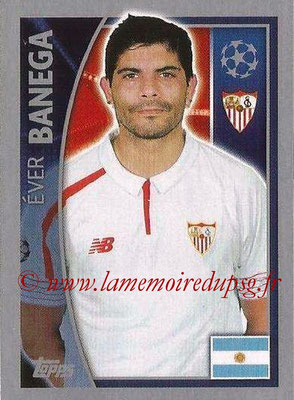 2015-16 - Topps UEFA Champions League Stickers - N° 273 - Éver BANEGA (FC Seville)